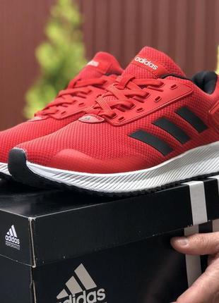 Мужские кроссовки adidas 41-46 весна лето осень красные