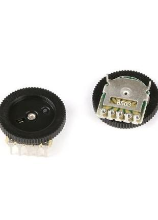 Регулятор громкости, потенциометр b503 двухканальный