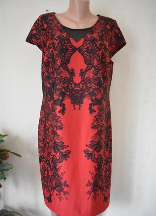Новое красивое платье с принтом большого размера joe browns