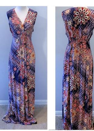 Платье макси 48 50 размер новое нарядное сарафан крутое трендо...