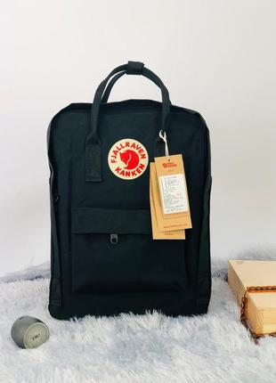 Рюкзак fjällräven kanken classic черный