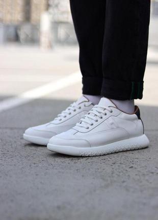 Кроссовки мужские 💥 hermès shoes white люкс качество 💥 кроссов...