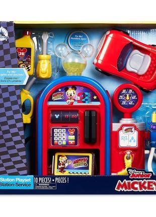 Игровой набор Интерактивная Автозаправочная станция Микки Маус