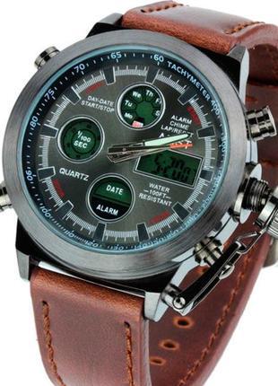 Армейские наручные часы AMST Original Brown