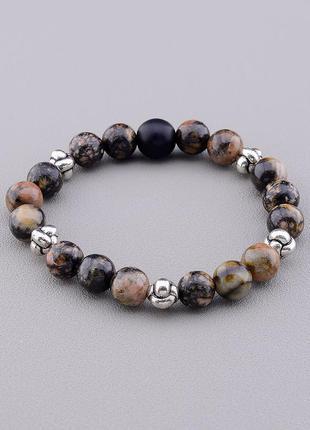 Браслет 'sunstones' родонит,шунгит 18 см 0867170