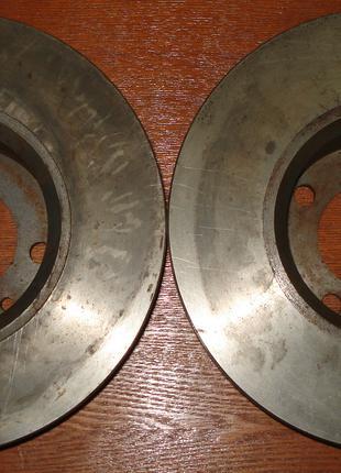 Комплект новых тормозных дисков для автомобилей ВАЗ 2101-2107