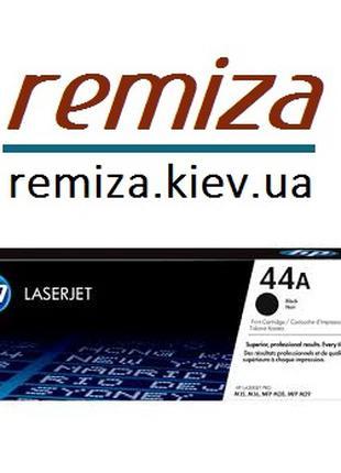 Заправка картриджа 44а (HP CF244a) принтера M15a M15w, M28w, M28a