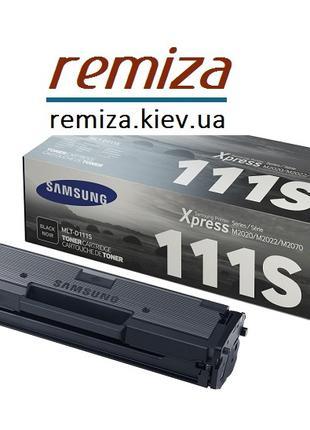 Заправка картриджа Samsung 111S для M2020w, M2070w, M2020, M2070