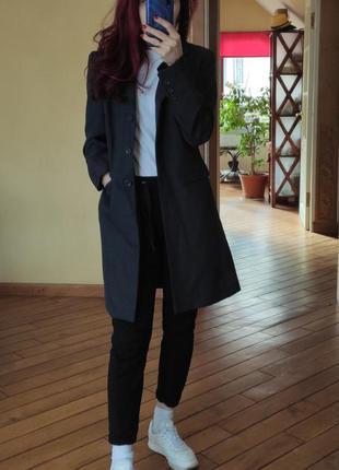Акция! длинный удлиненный костюмный пиджак от woman