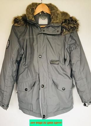 Зимняя куртка теплая для мальчика