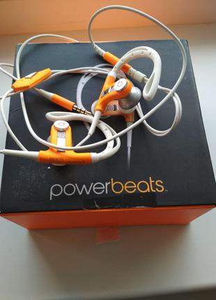 Наушники Beats Power Neon Orange