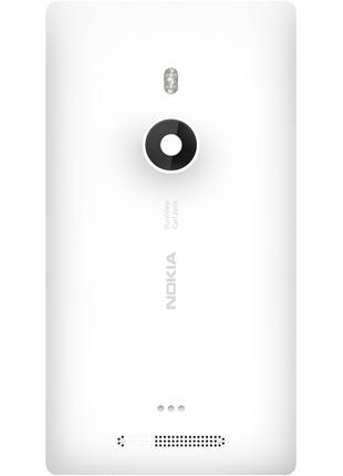 Задняя крышка со стеклом камеры Nokia Lumia 925 00810B5 оригинал