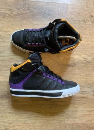 Мужские кожаные кроссовки Adidas Originals X Snoop Dogg 42.5 раз
