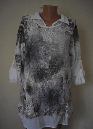Красивая итальянская блуза