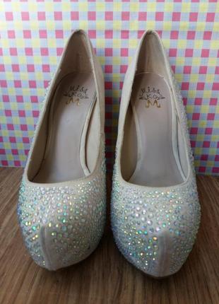 Туфли замшевые для шоу, танцев, гоу-гоу полденс