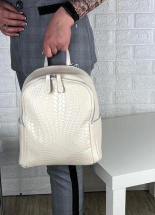 Сумка рюкзак кожа