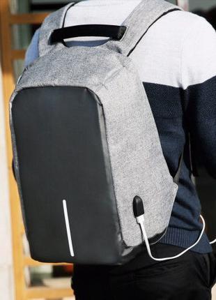 Рюкзак Bobby Бобби с защитой от карманников антивор+ USB разъем