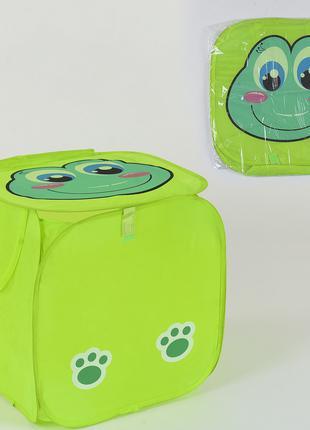 Корзина для игрушек С 36581 Лягучка Жабка 45 см