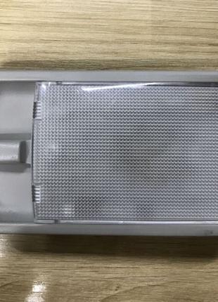 Плафон освещения пассажир Nissan Leaf 11-17 серый