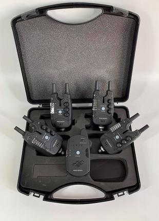 Карповые сигнализаторы поклевки (аналог Carp Pro Q5) набор 4+1.