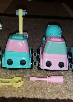 Машинки-конструктор
