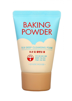 Пенка для умывания с содой и цитрусами Etude House Baking Powder
