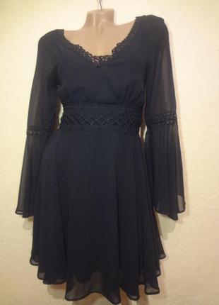 Ну просто обалденное шифоновое платье с кружевом lipsy london ...