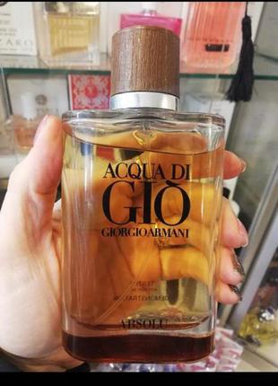 Мужская парфюмированная вода абсолю