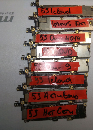 Платы iphone 5s Icloud