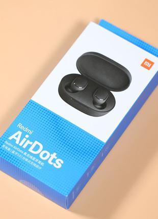 Bluetooth TWS наушники Xiaomi Redmi AirDots + чехол /