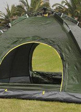 Палатка-автомат 4-х местная с автоматическим каркасом Leomax
