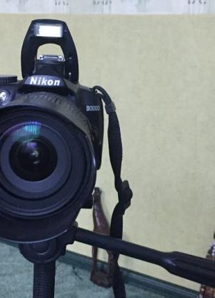 продам фотоаппарат Никон D3000