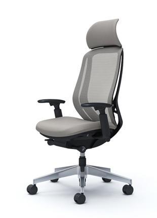 Кресло OKAMURA SYLPHY  полированное, Light Grey-светло серое