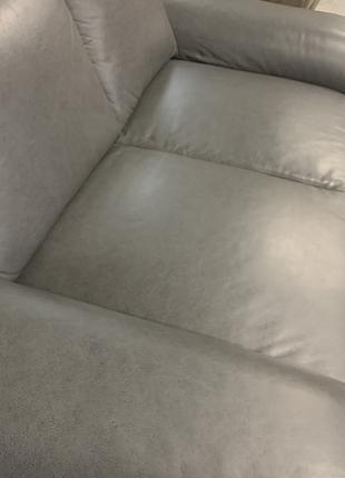 Диван кожаный Мягкая кожаная мебель шкіряний диван