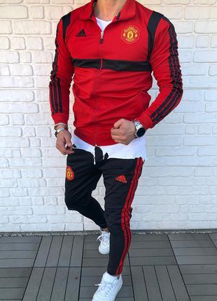 Мужской спортивный костюм ADIDAS FC Manchester United