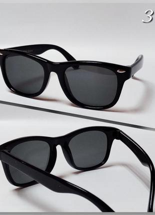 Стильные солнцезащитные детские очки с поляризацией