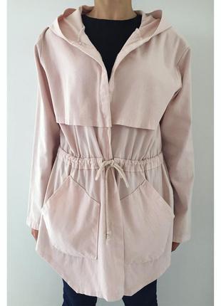Куртка розового цвета, пальто, плащ, накидка, зручна, приємног...