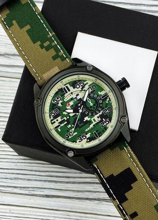 Оригинальные мужские наручные часы Curren 8183 Military Green