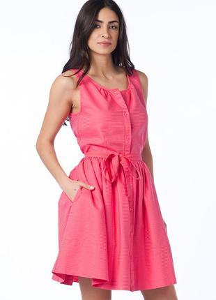 Очень красивое летнее яркое хлопковое платье большого размера