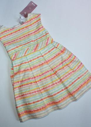 Красивое платье для девочки 1.5-2 года от tu