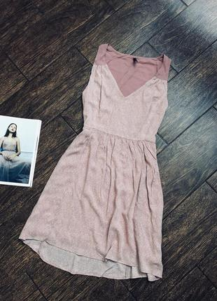 Очень красивое летнее вискозное платье