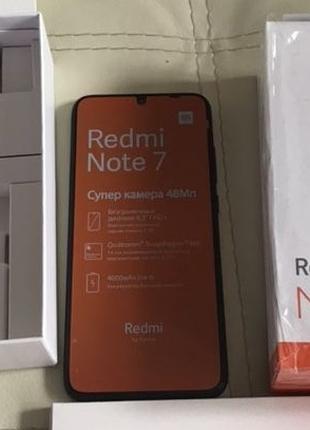 Смартфон Xiaomi Redmi Note 7 (4/64Gb) Black