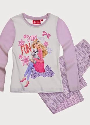 Пижама для девочек barbie 2 года