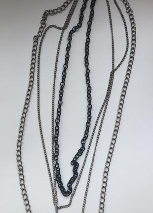 Колье ожерелье подвеска хрест.  цепочка з хрестом, підвіска, б...