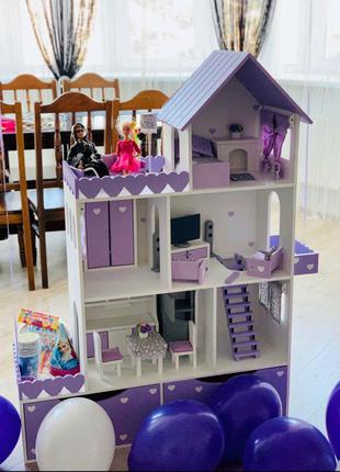 Кукольный домик, домик для кукол, домик для кукол барби