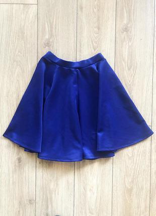 Трикотажная юбка солнце-клеш
