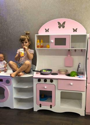 Кухня детская, холодильник детский, игровая кухня