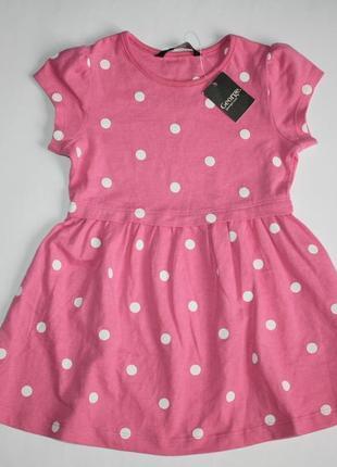 Платье горошки р1,5-2года george