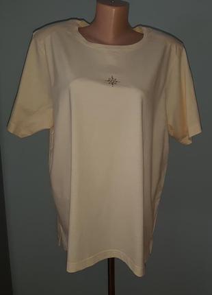 Трикотажная футболка большого рамера bexleys'