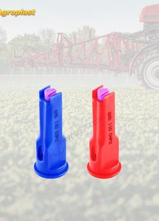 Двухфакельный инжекторный распылитель Agroplast (длинный)
